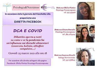 Psicologia&Nutrizione: DCA e Covid